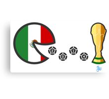 Mexico World Cup 2014 Canvas Print