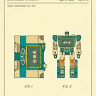 RECONFIGURABLE TOY CASSETTE PATENT (1986) by JazzberryBlue
