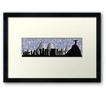 Rio de Janeiro skyline Framed Print