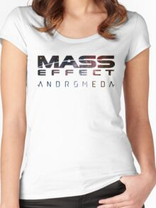 Mass effect - Andromeda  Women's Fitted Scoop T-Shirt