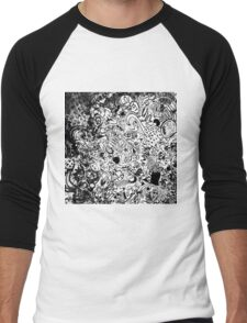 graffiti  Men's Baseball ¾ T-Shirt