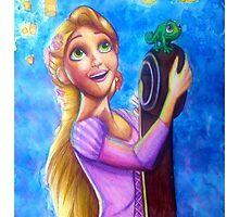 Rapunzel  by HannahByrne