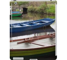 Colorful Row Boats iPad Case/Skin