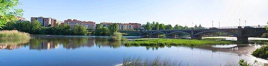 Salamanca, Tormes river by victorrdz