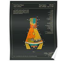 SPACE CAPSULE PATENT (1963) Poster