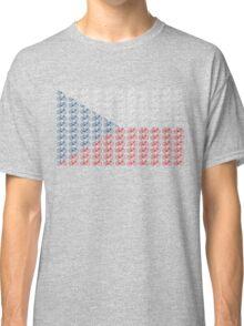 Bike Flag Czech Republic (Small) Classic T-Shirt