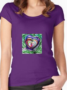 LoVe FloWer 2012 Women's Fitted Scoop T-Shirt