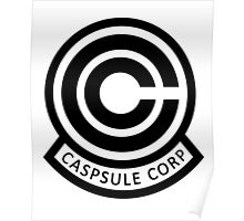 DBZ Capsule Corp Logo Poster