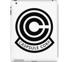 DBZ Capsule Corp Logo iPad Case/Skin
