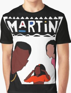 Martin (White) Graphic T-Shirt