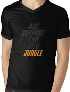Forever Jungle Mens V-Neck T-Shirt