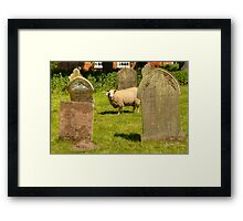 Graveyard Guard Framed Print