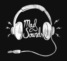 Mad Sounds White by Sean Nguyen