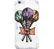 Vintage grunge lollipops candy heart ribbon iPhone Case/Skin