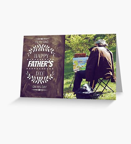 Happy Dad's Day Greeting Card
