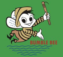 Bumble Bee Tuna One Piece - Short Sleeve