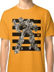 Transformers Bumblebee Stripe Classic T-Shirt