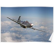 P51 Mustang - 'Big Beautiful Doll' Poster