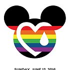Support for the victims of the horrific shooting at Orlando's Pulse Nightclub.  by +WORD ART
