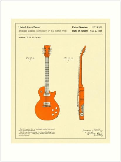 Guitar (1955) by JazzberryBlue