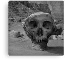 Valley of the Skulls I BW Canvas Print
