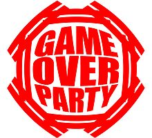 Super Game Over Party Logo by Style-O-Mat