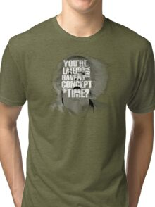 Back to the Future - Doc Brown Tri-blend T-Shirt