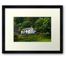 The House at Loughrigg Tarn Framed Print