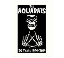 The Fiend Aquabats Art Print