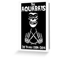 The Fiend Aquabats Greeting Card