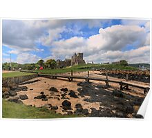 Inchcolm Island and Abbey, Fife. Scotland Poster