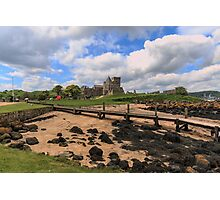 Inchcolm Island and Abbey, Fife. Scotland Photographic Print