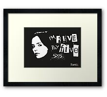 I'M FIVE BY FIVE Framed Print