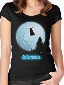 E.T.: Ex.Terminate!!! Women's Fitted Scoop T-Shirt