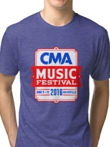 CMA 2016 MUSIC FESTIVAL Tri-blend T-Shirt