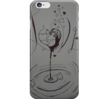 Broken puzzle of love  iPhone Case/Skin