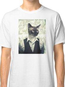 Fancy Cat Classic T-Shirt