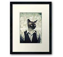 Fancy Cat Framed Print