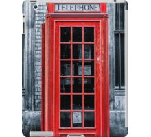 London - Telephone booth alone iPad Case/Skin