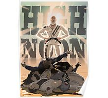 Jiu Jitsu Hero- High Noon Poster