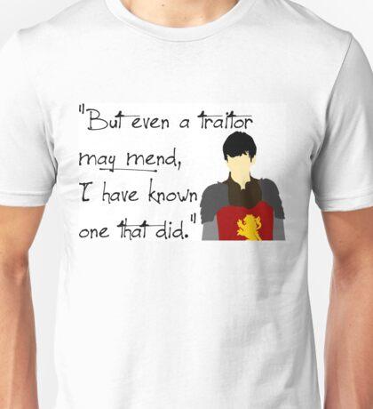 Edmund Pevensie Traitor Quote Unisex T-Shirt