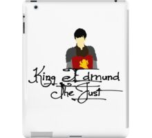 King Edmund The Just iPad Case/Skin