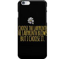 John Green -- Looking For Alaska -- Choose it iPhone Case/Skin