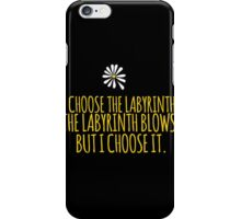 John Green -- Looking For Alaska -- Choose it iPhone Case/Skin