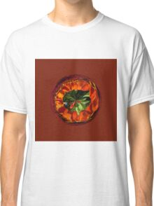 Flower in the globe yellow and red Classic T-Shirt