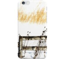Fence in the Snow iPhone Case/Skin