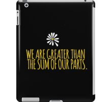 John Green -- Looking For Alaska -- Sum of Our Parts iPad Case/Skin