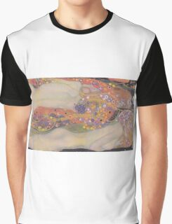 Water Snakes II by Klimt  Graphic T-Shirt