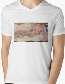 Water Snakes II by Klimt  Mens V-Neck T-Shirt