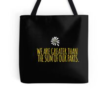 John Green -- Looking For Alaska -- Sum of Our Parts Tote Bag